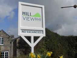 New business, new sign at Hill View