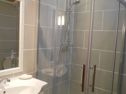Trispen Bathroom with Shower Cubicle